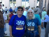 Barb and Carrie climate march